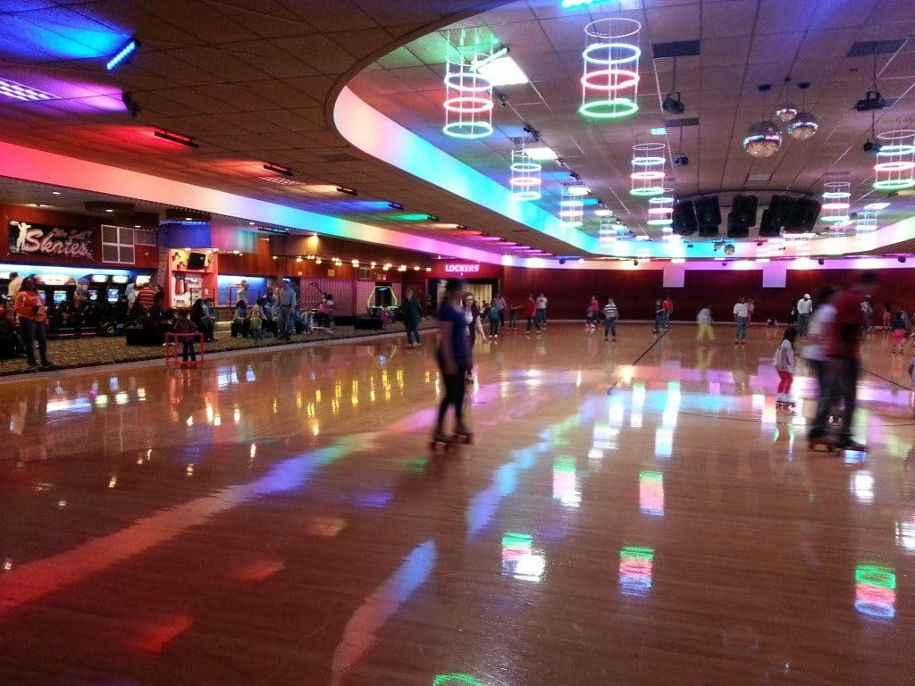Roller Skating at the Skate Center in Smyrna in Nashville