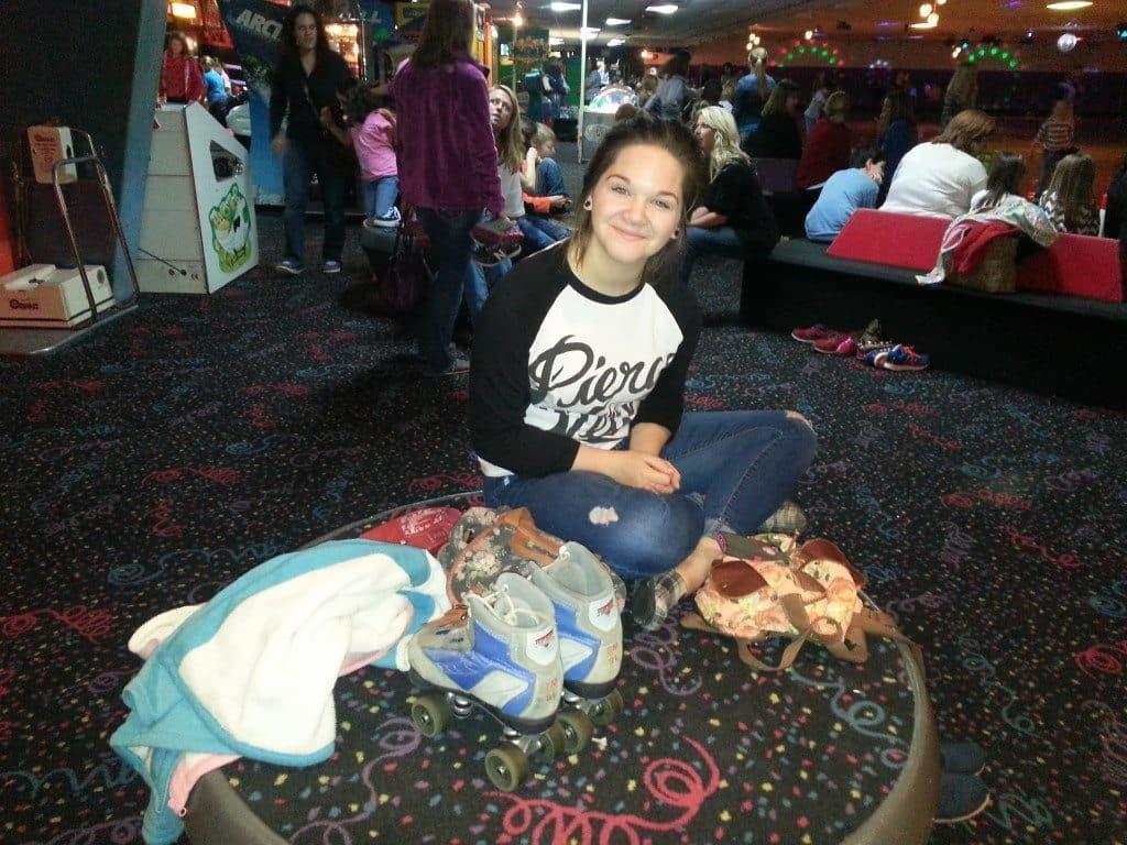 girl at Skate Center West