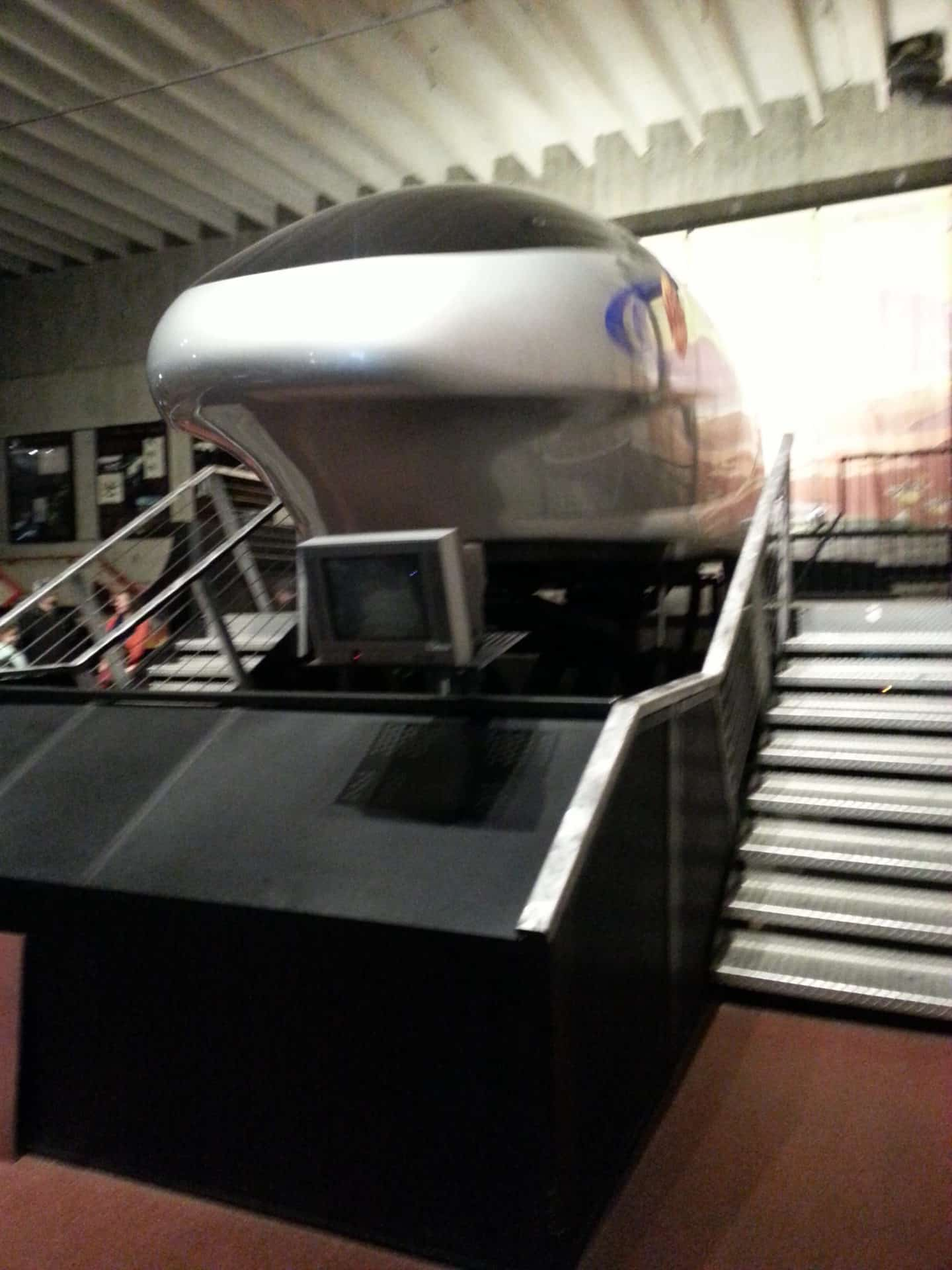 US Space and Rocket Center - simulator