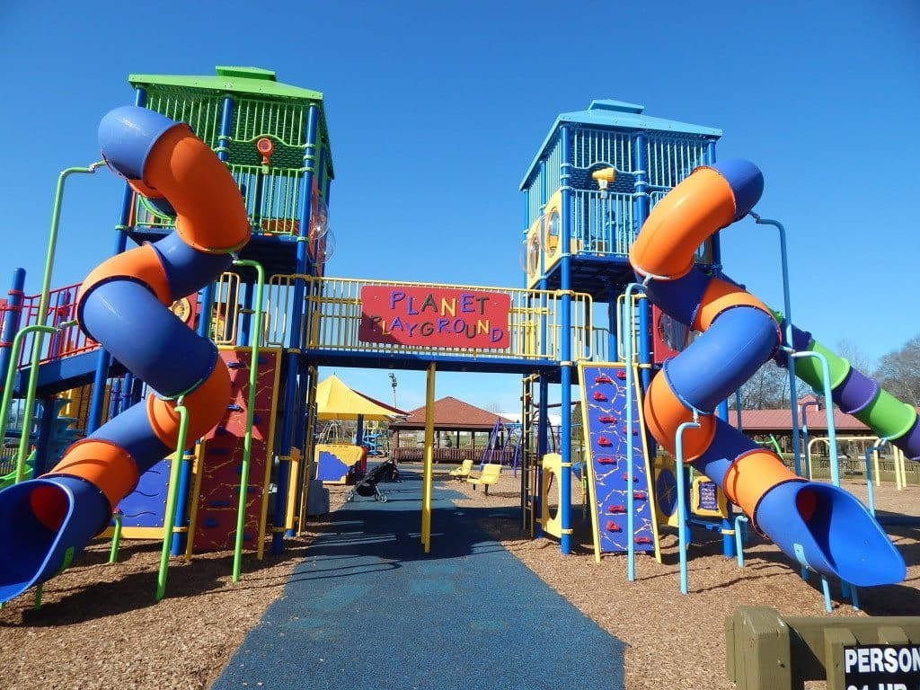 Charlie Daniels Park - Entrance to Planet Playground