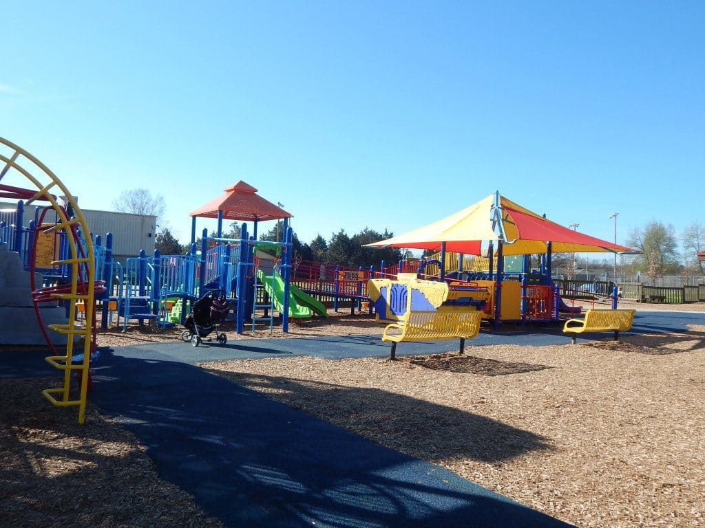 Charlie Daniels Park - Another view of Planet Playground