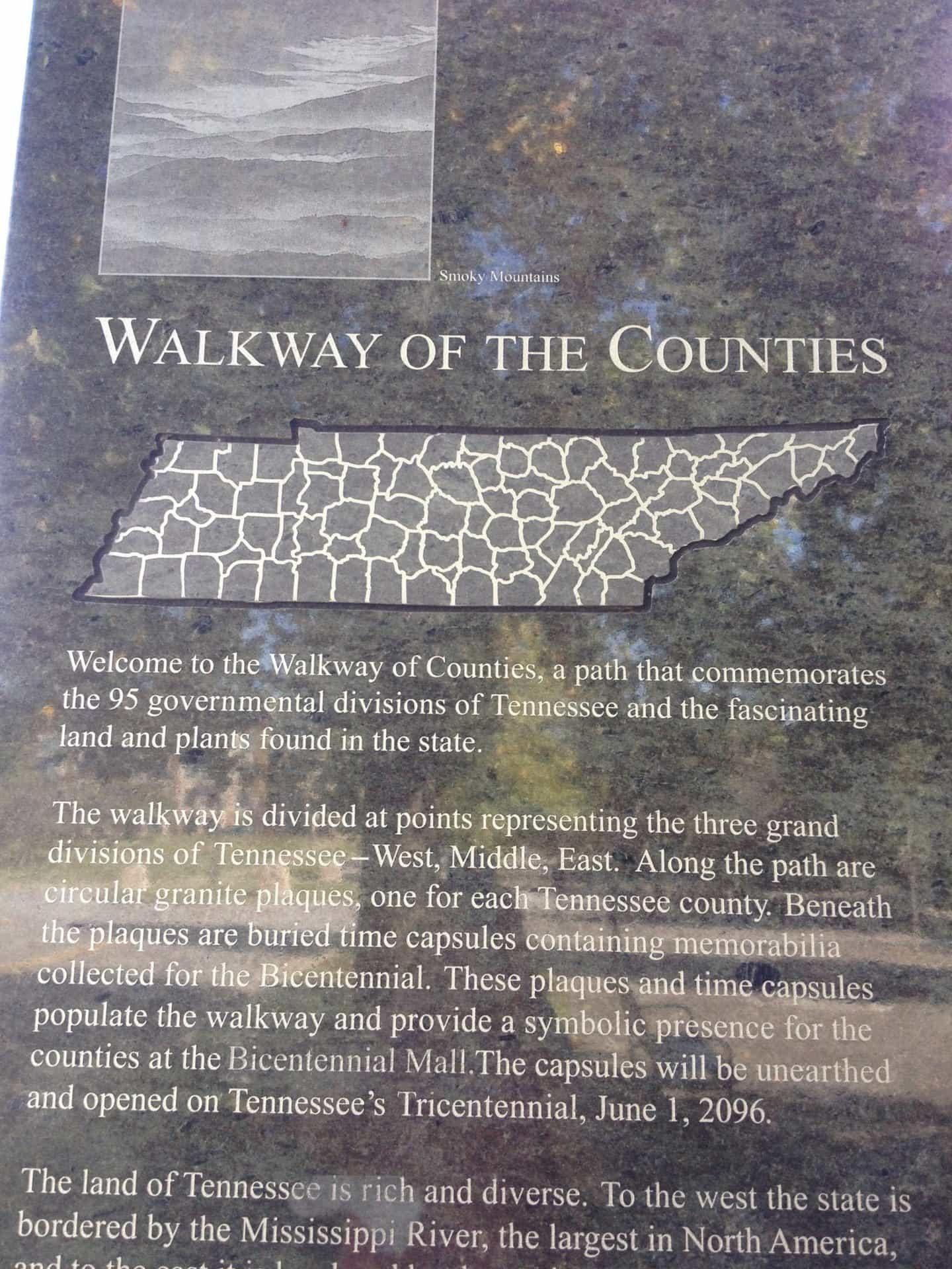 Walkway of the Counties