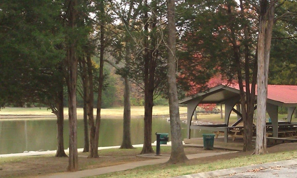 Cedar Hill Park - Picnic Shelter next to the Lake