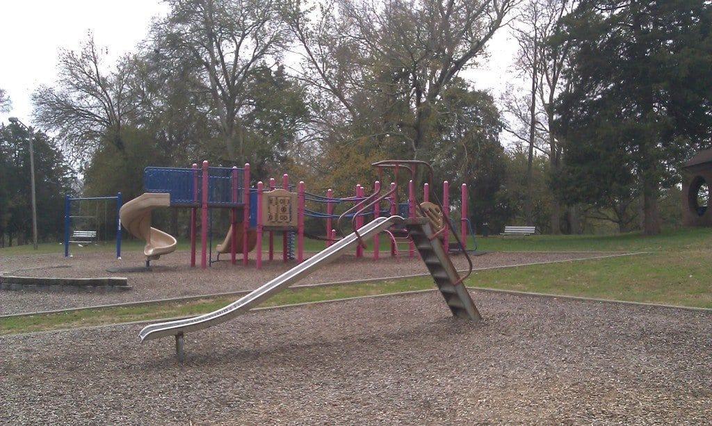 Moss Wright Park slide