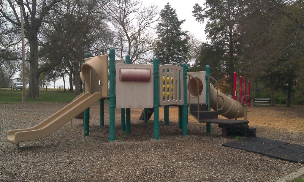 Moss Wright Park playscape