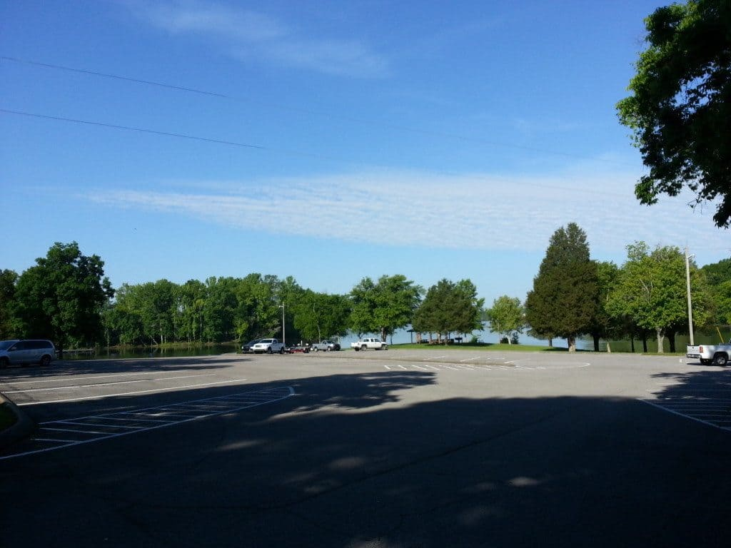 Lone Branch Recreation parking lot