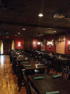 McNamara's Irish Pub dining room
