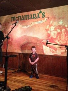 McNamara's Irish Pub stage