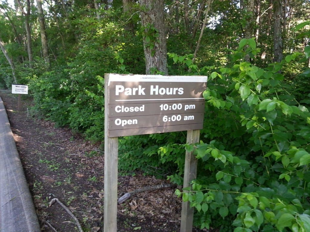 Lone Branch Recreation Area - park hours