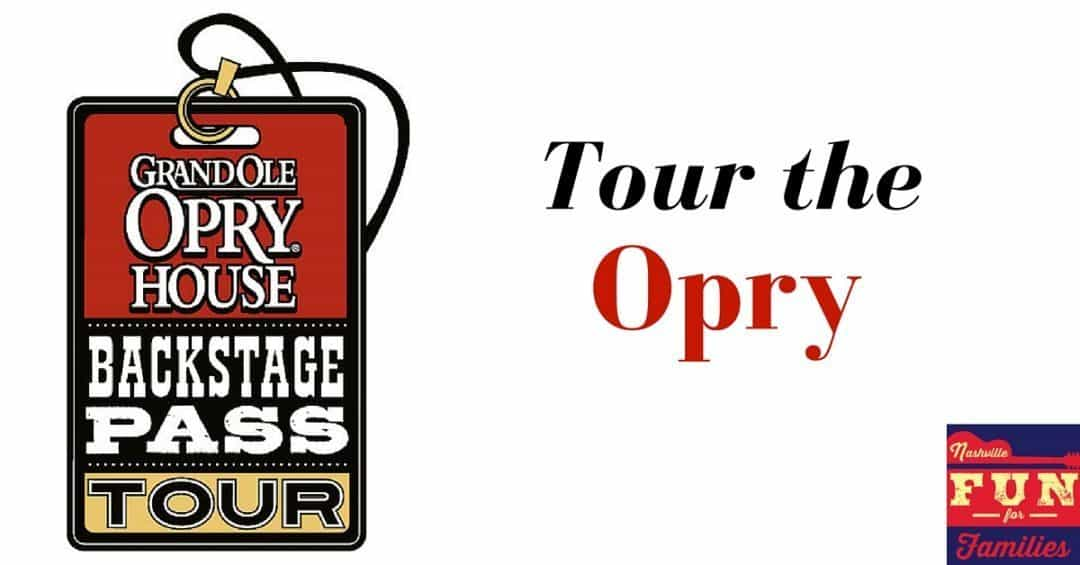 Grand Ole Opry Backstage Tour