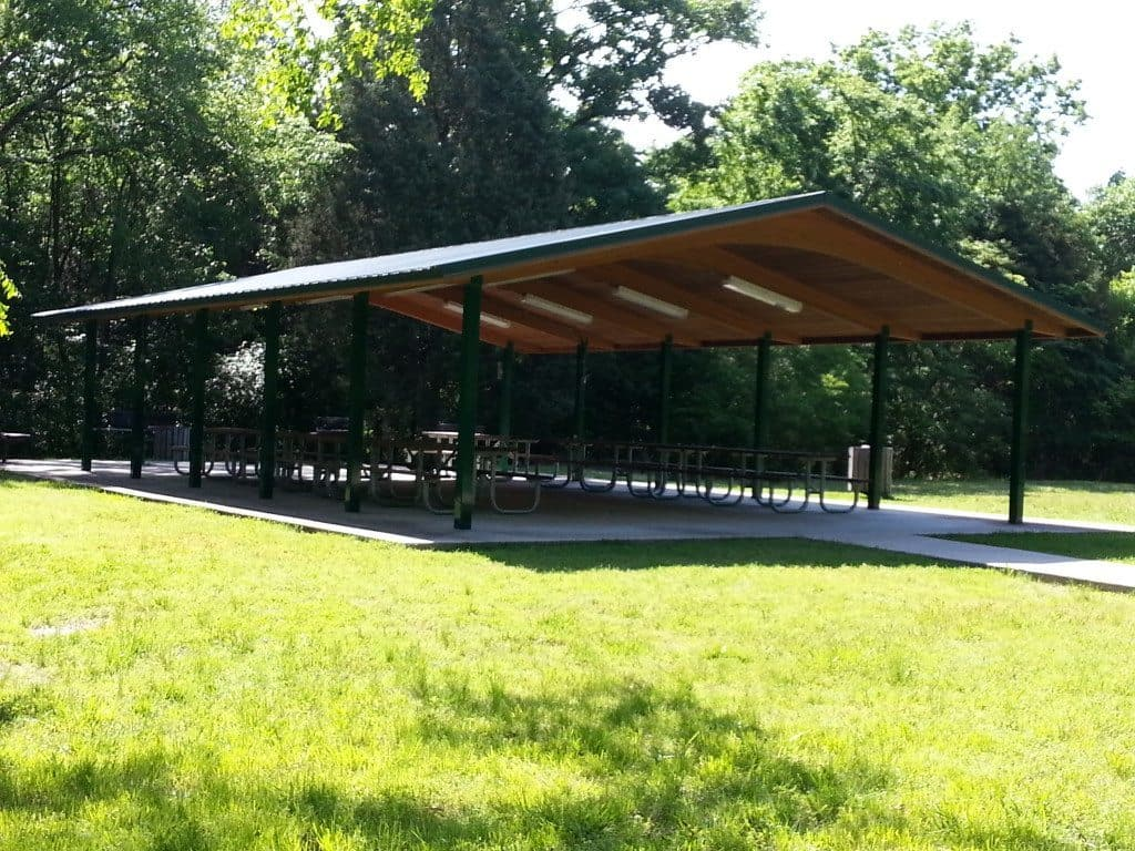 Cook Recreation Area covered pavilion