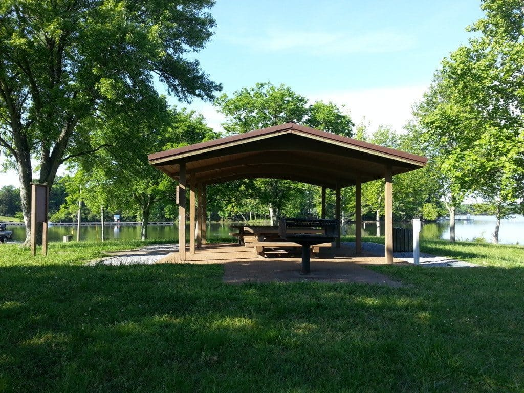 Lone Branch Recreation picnic pavillion