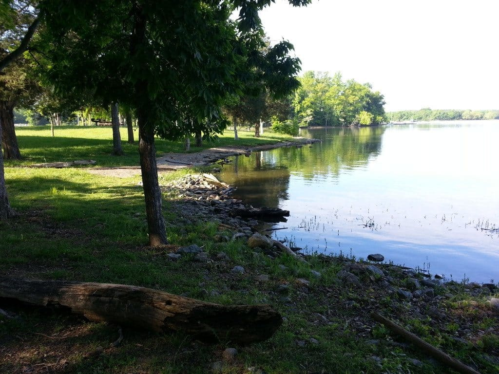 Lone Branch Recreation Lake view