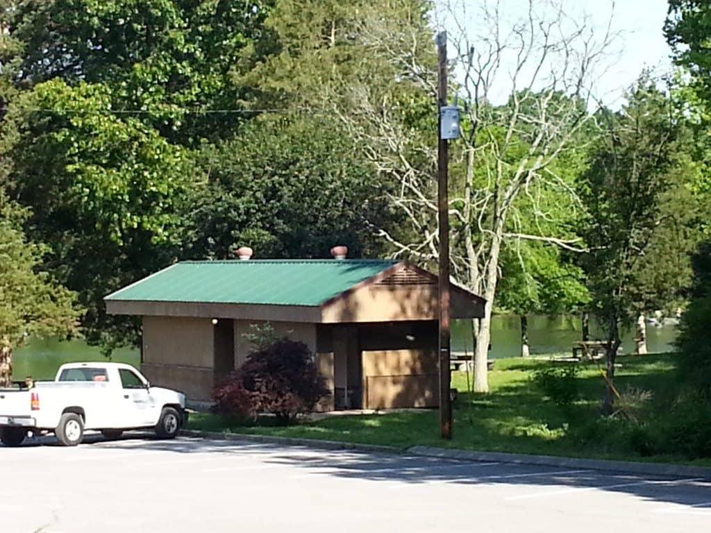 Lone Branch Recreation Area - bathrooms