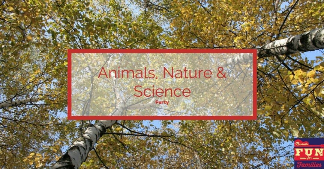 Animals Nature Science Birthday Party Venues In Nashville