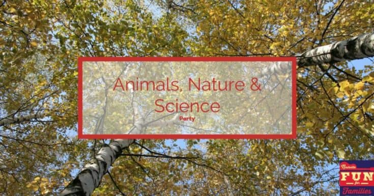 Animals, Nature & Science Birthday Party Venues