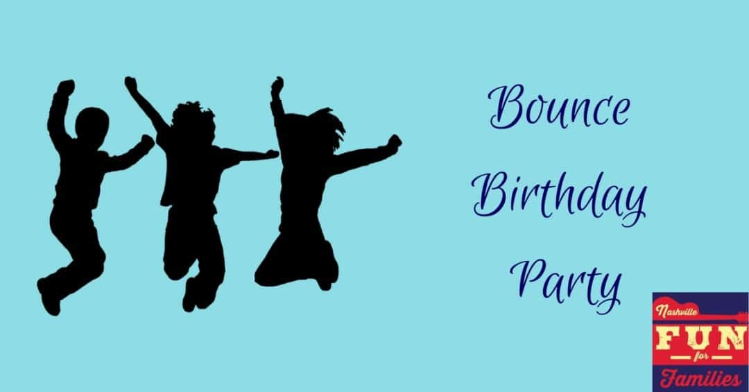Bounce Birthday Party Venues