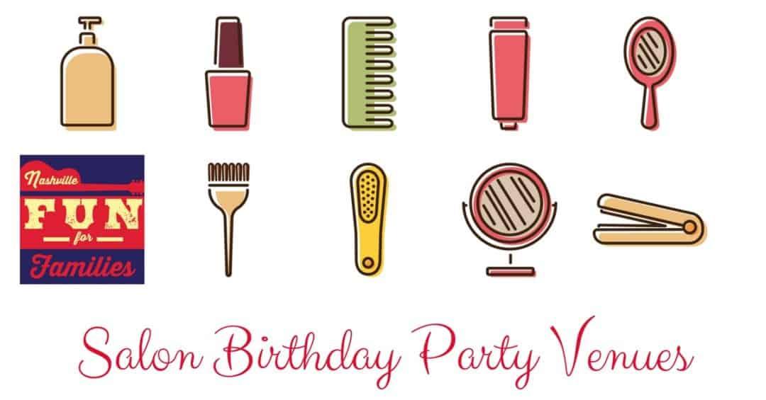 salon birthday party venues