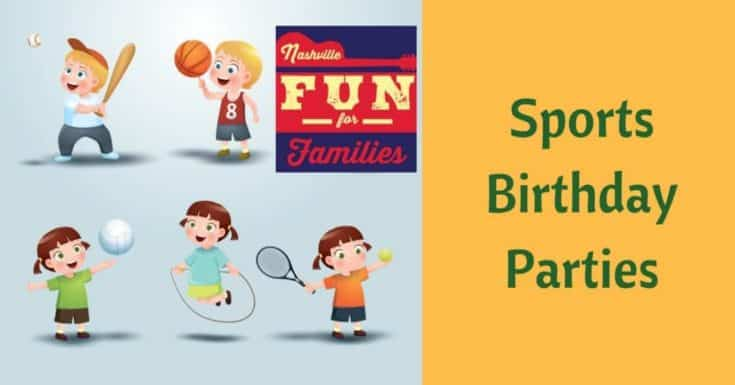 Sports Birthday Party Venues