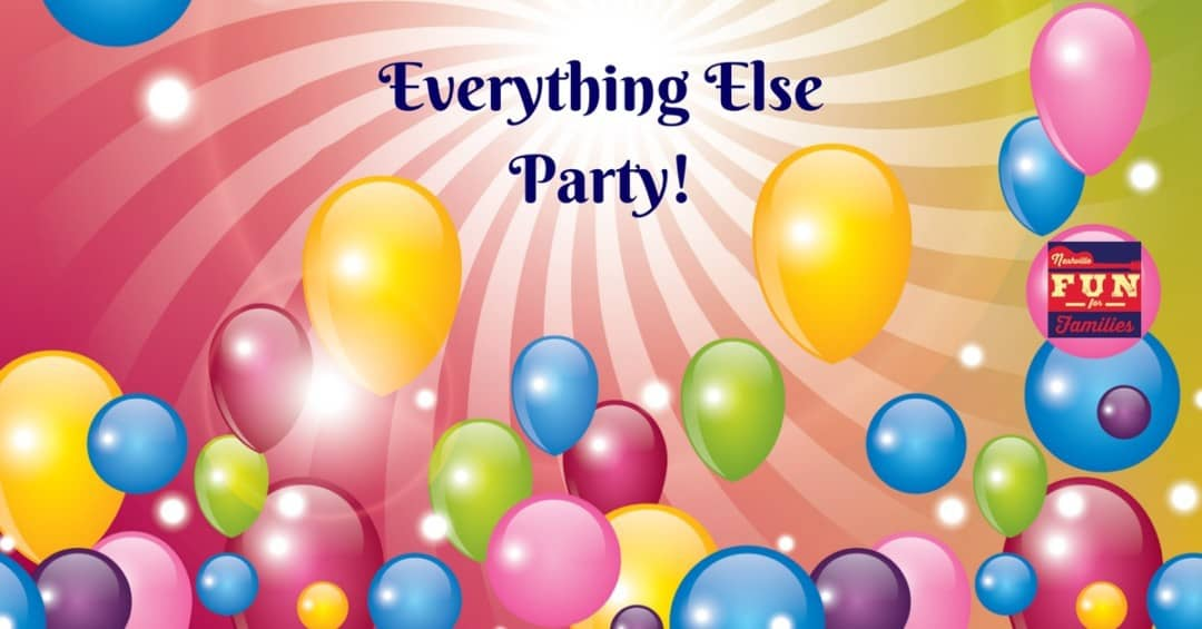 everything else birthday party venues