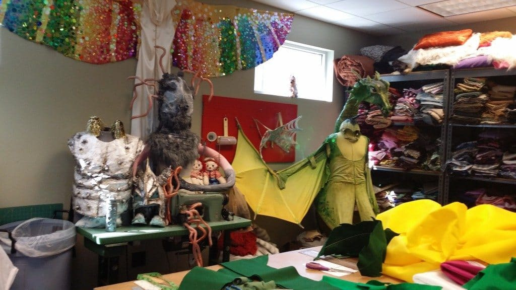 Nashville Children's Theatre - costume shop