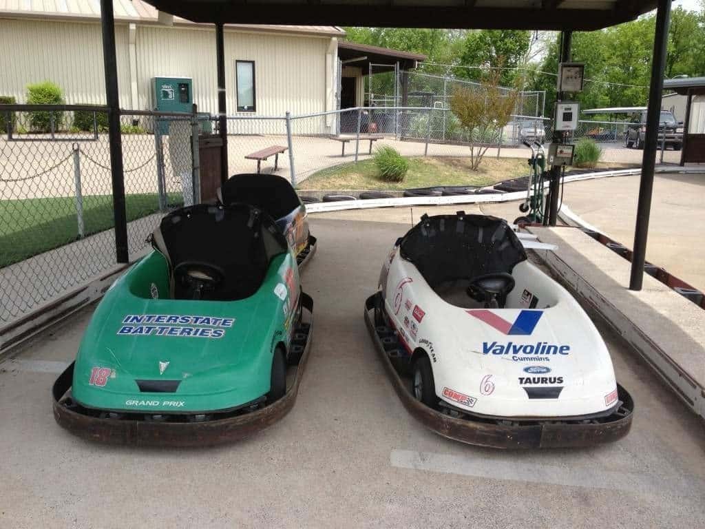 Nashville fun for families - Cedar Creek - go carts small