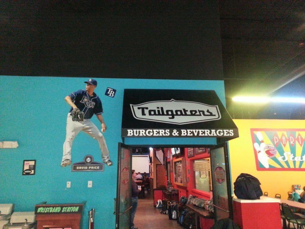 LTA Tailgates Burgers