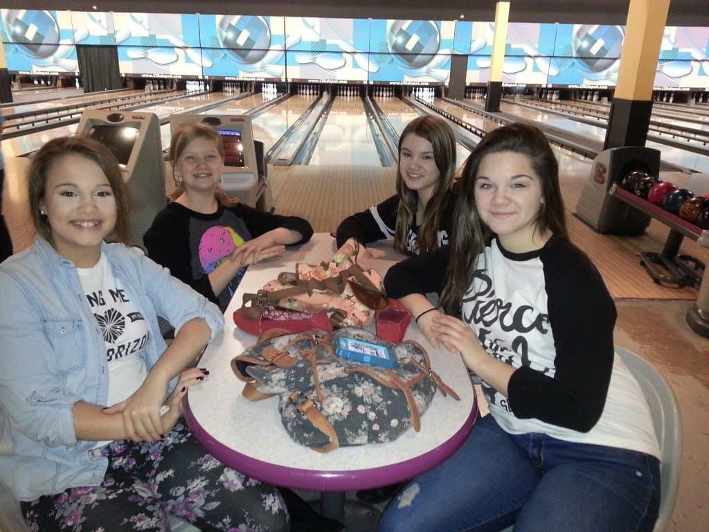 LTA girls bowling