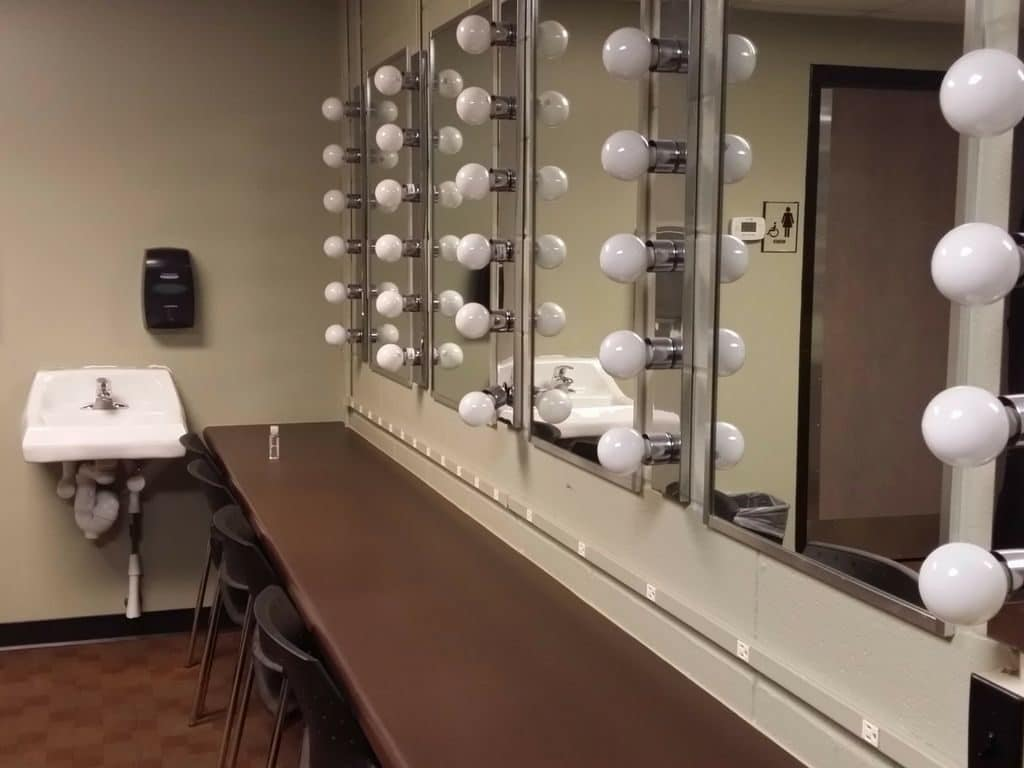 Nashville Children's Theatre - dressing room