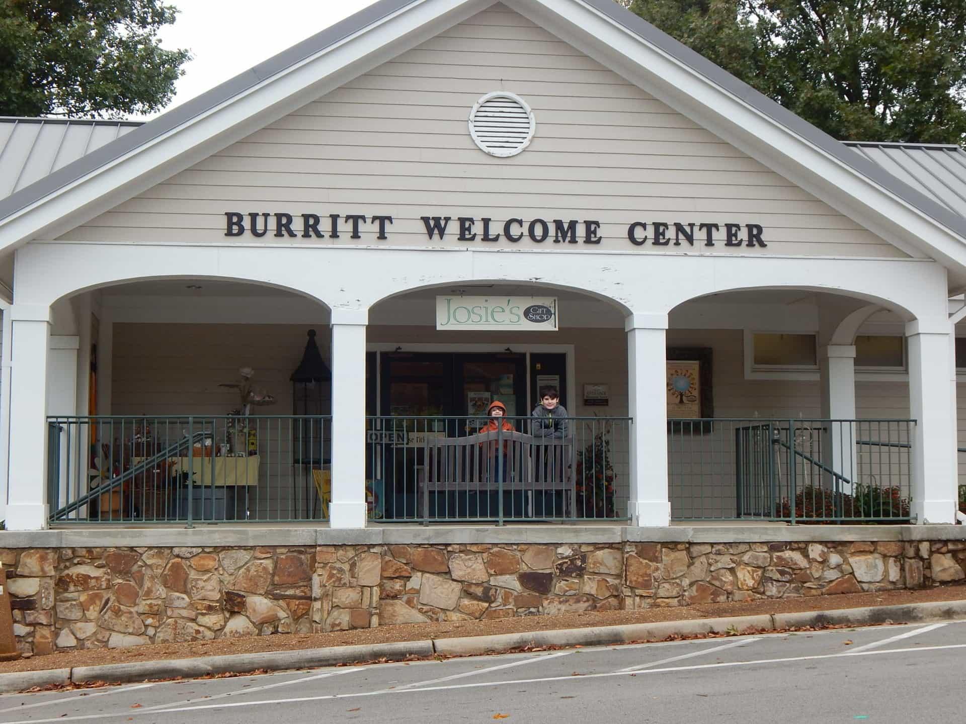 Burritt on the Mountain - Welcome Center