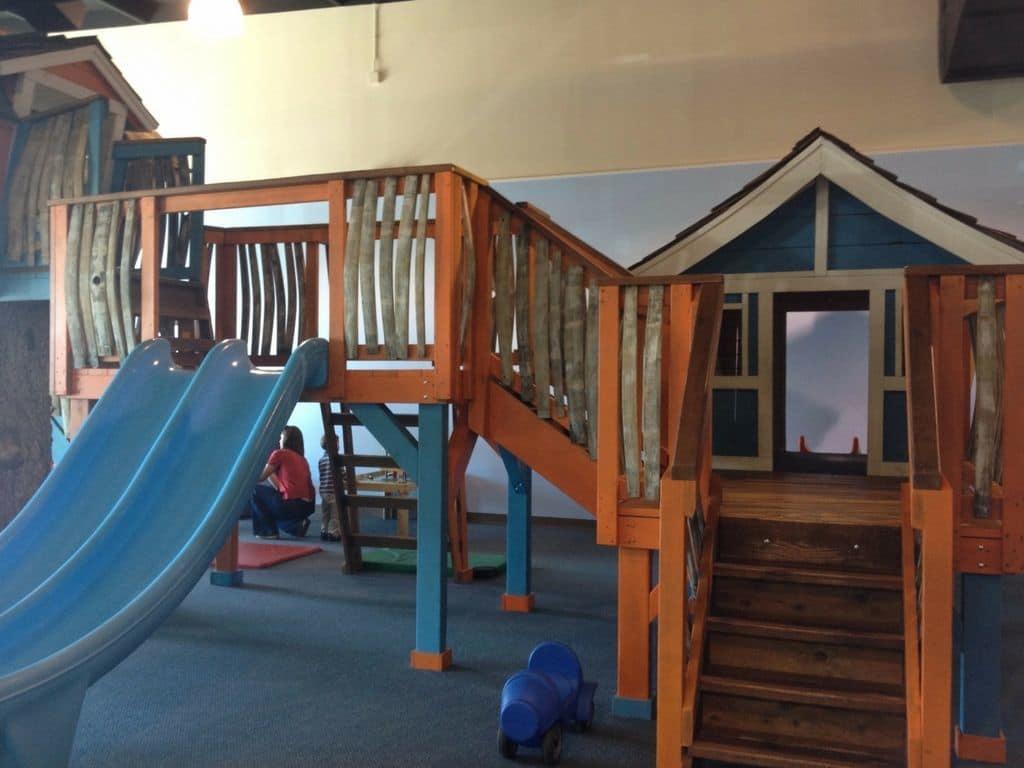 Monkey's Treehouse slides