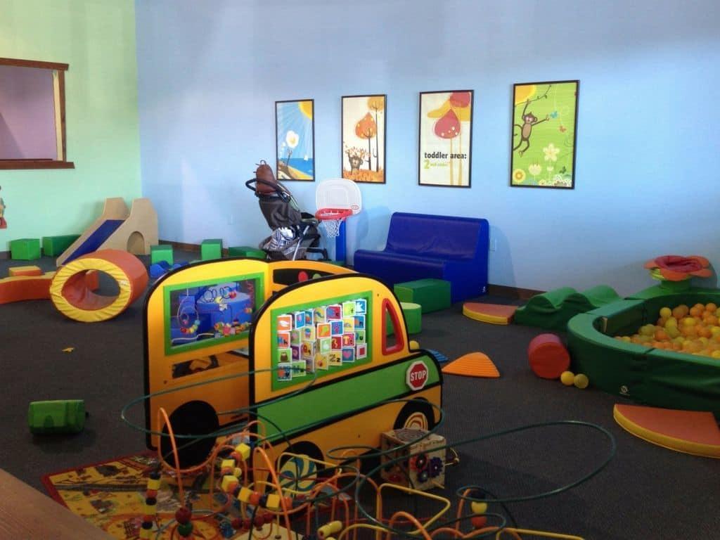 Monkey's Treehouse toddler area