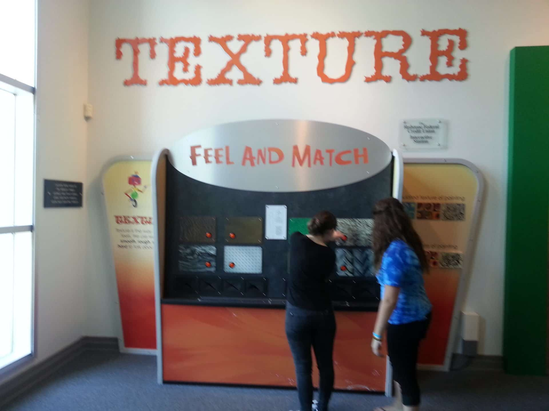Huntsville Museum of Art - Texture - Feel and Match