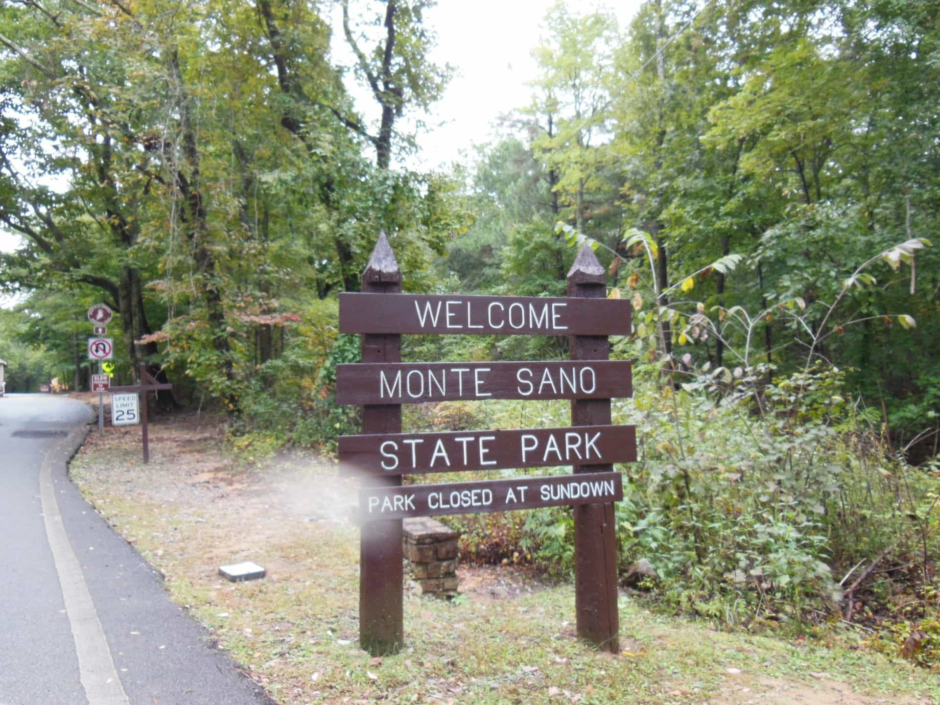 Monte Sano State Park - Welcome Sign