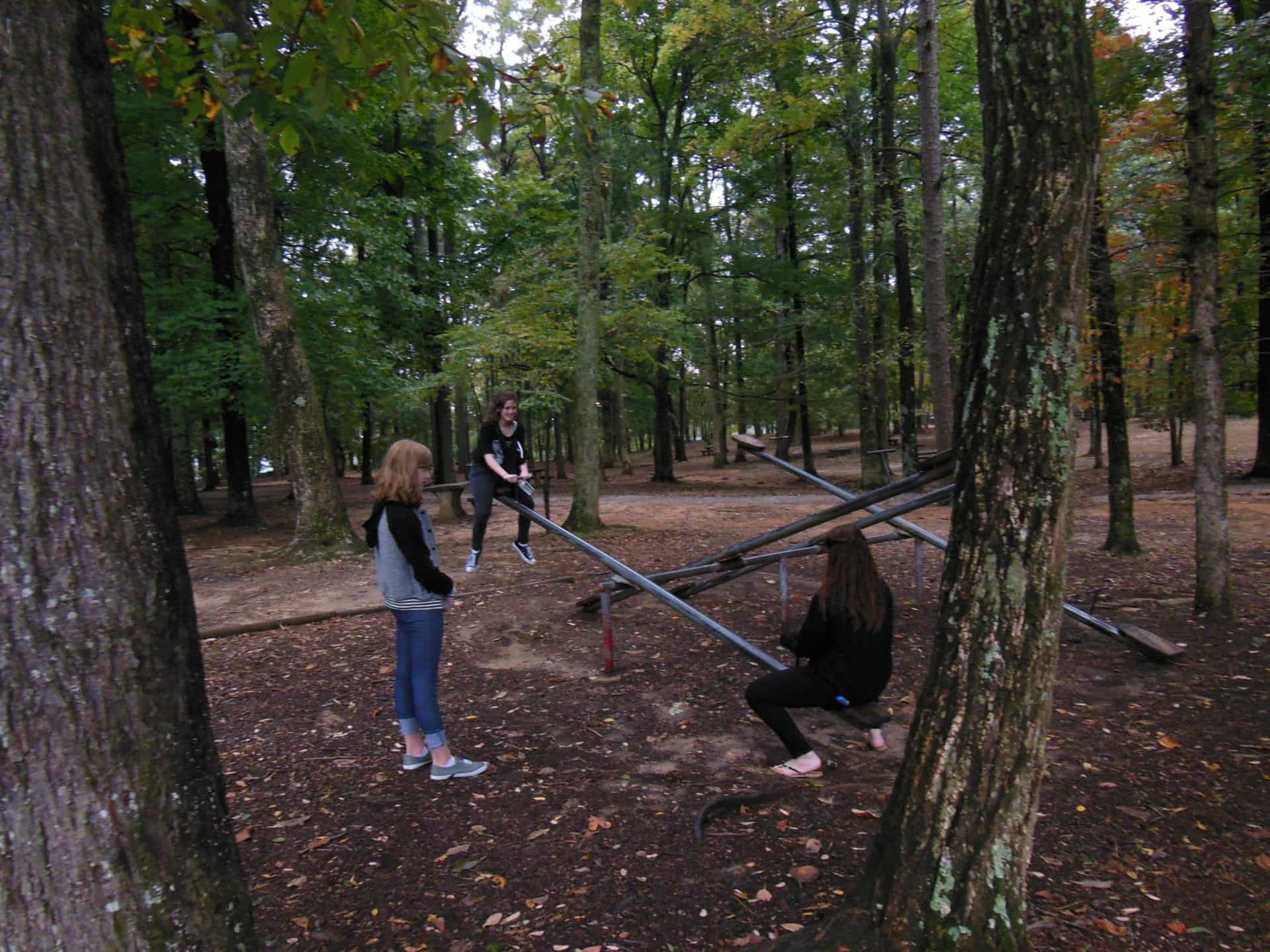 Monte Sano State Park - Teeter Totters