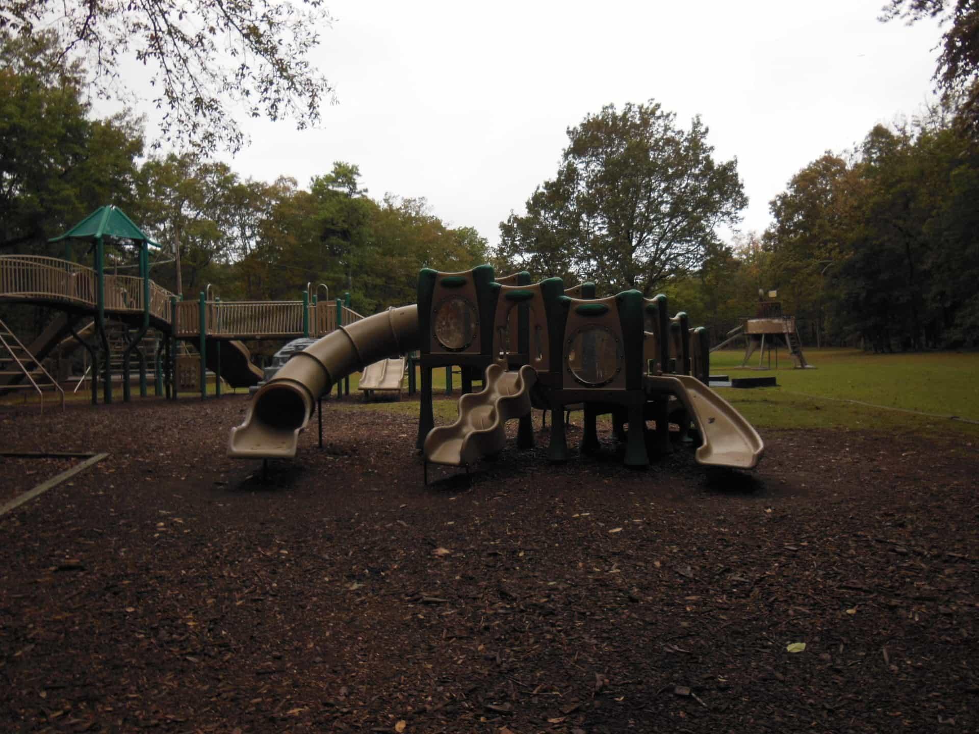 Monte Sano State Park - Playscape slides