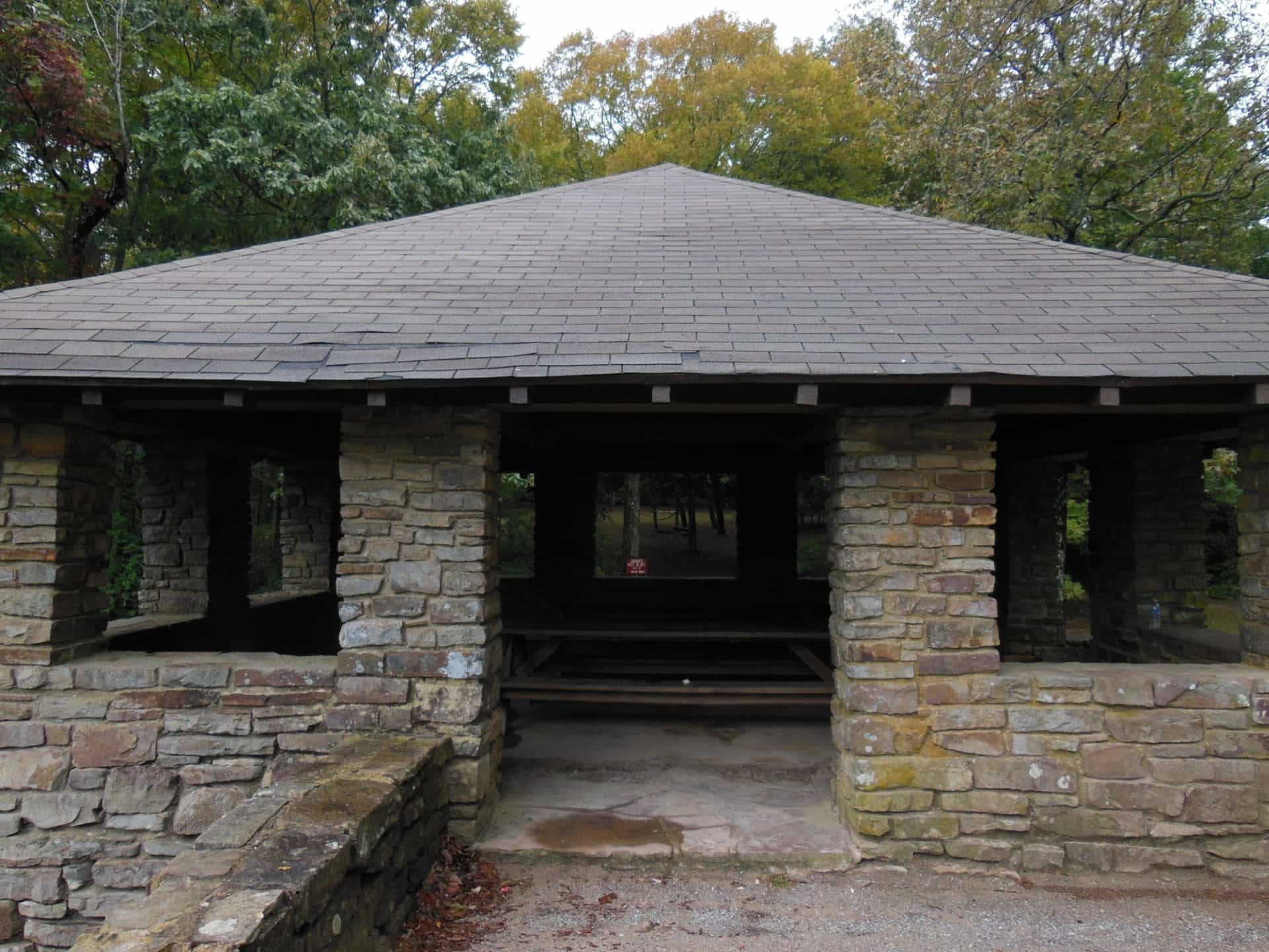 Monte Sano State Park - Stone Shelter