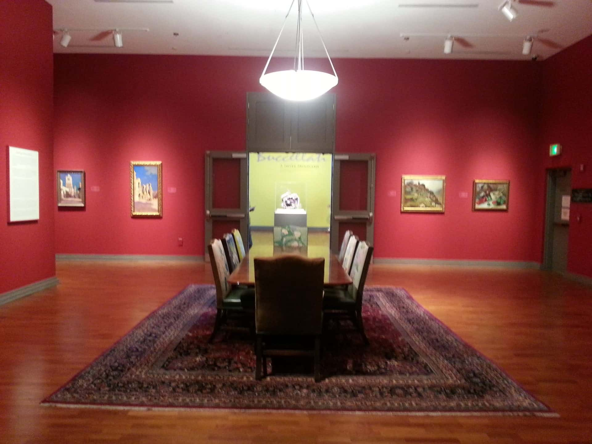 Huntsville Museum of Art - Dining Table