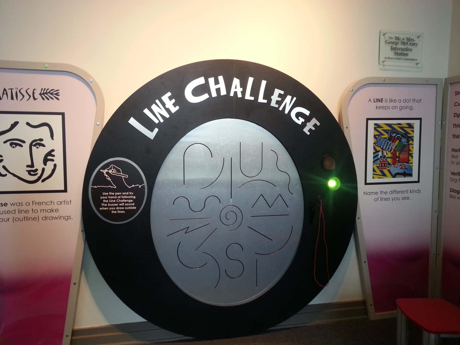 Huntsville Museum of Art - Line Challenge