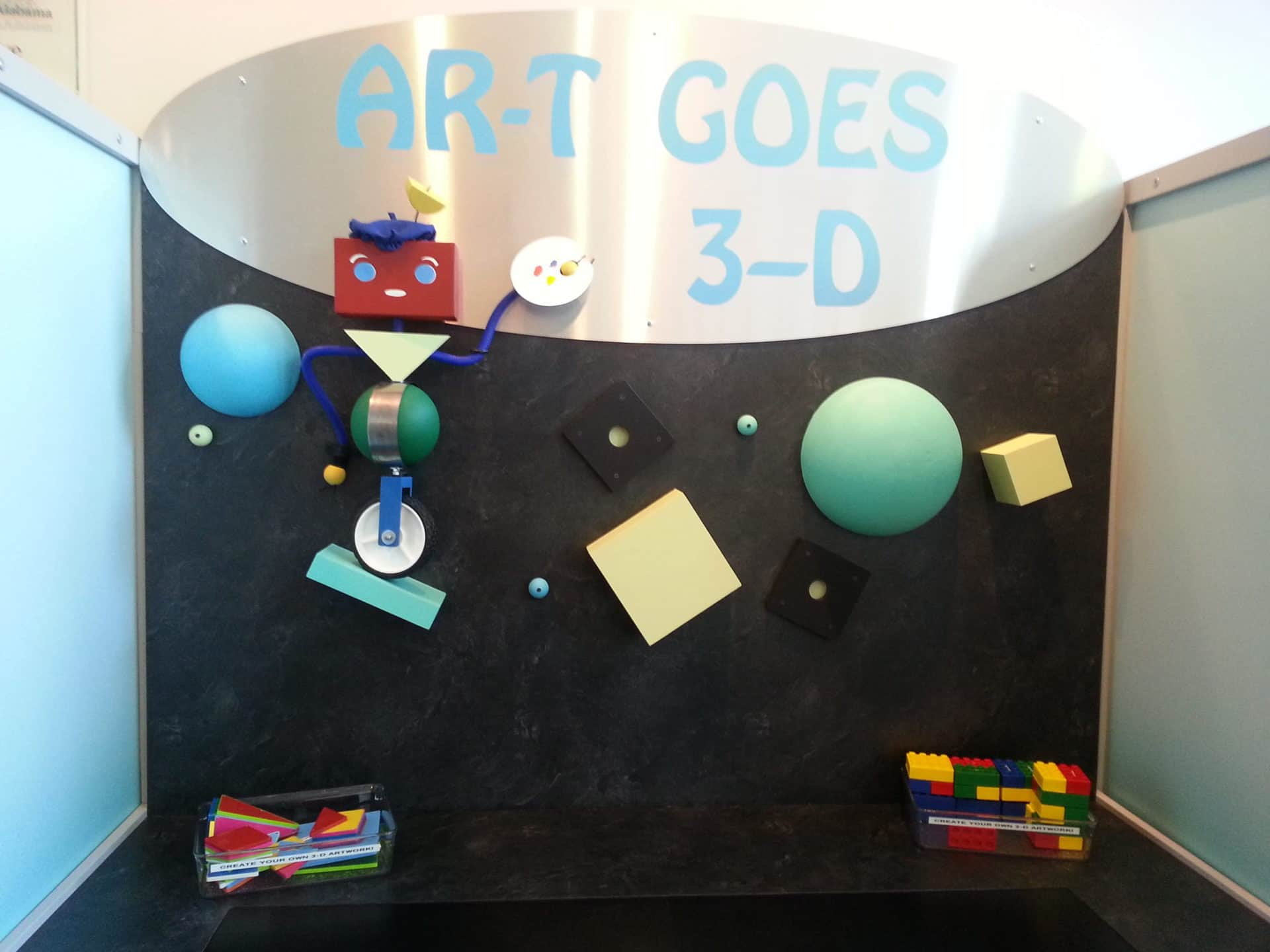 Huntsville Museum of Art - Art goes 3D