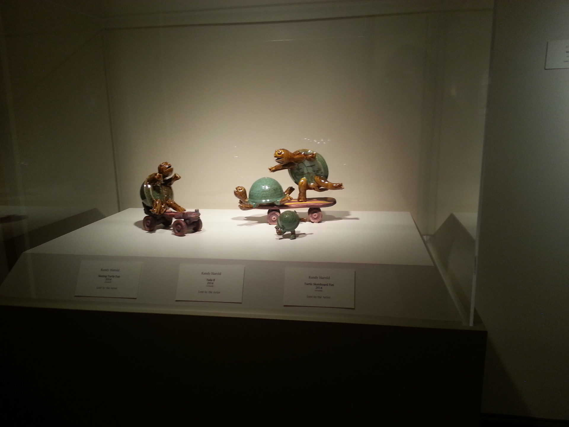 Huntsville Museum of Art - Green Turtles