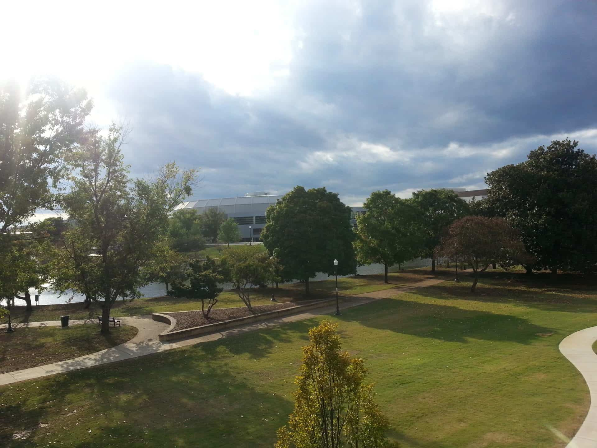 Huntsville Museum of Art - View from the Museum