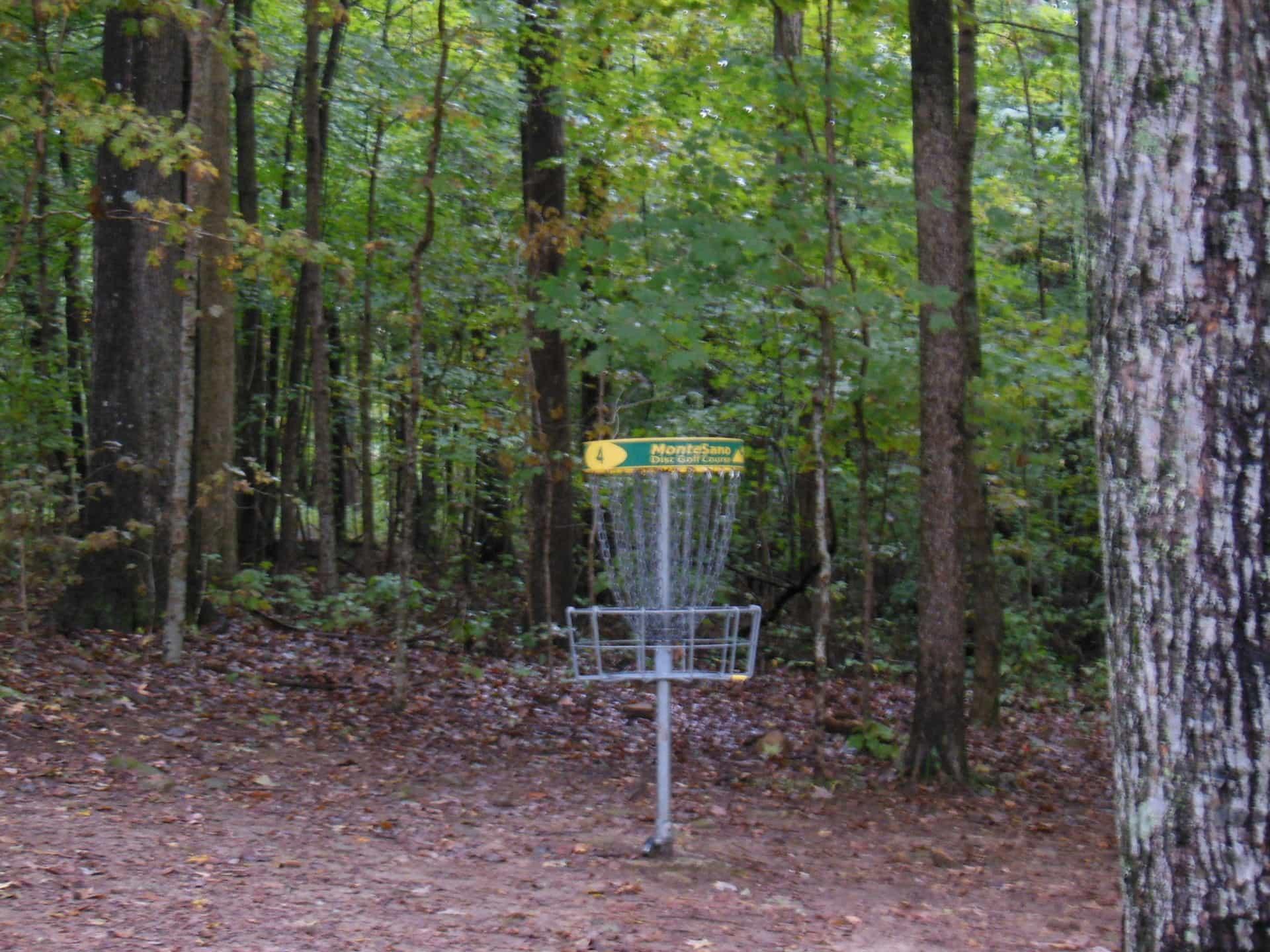 Monte Sano State Park - frisbee golf