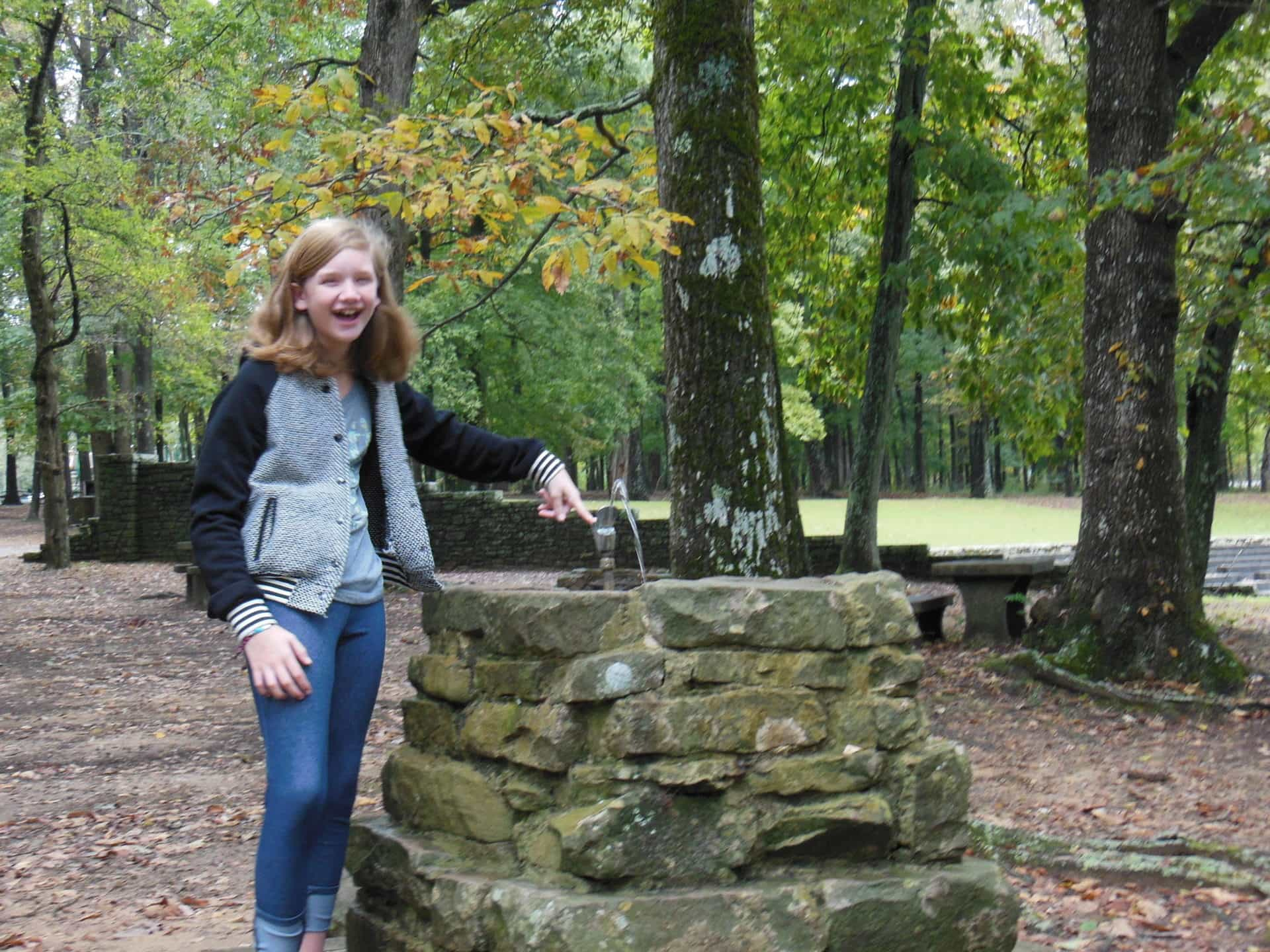Monte Sano State Park - Water fountain