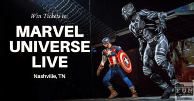 WIN Marvel Universe Live Tickets