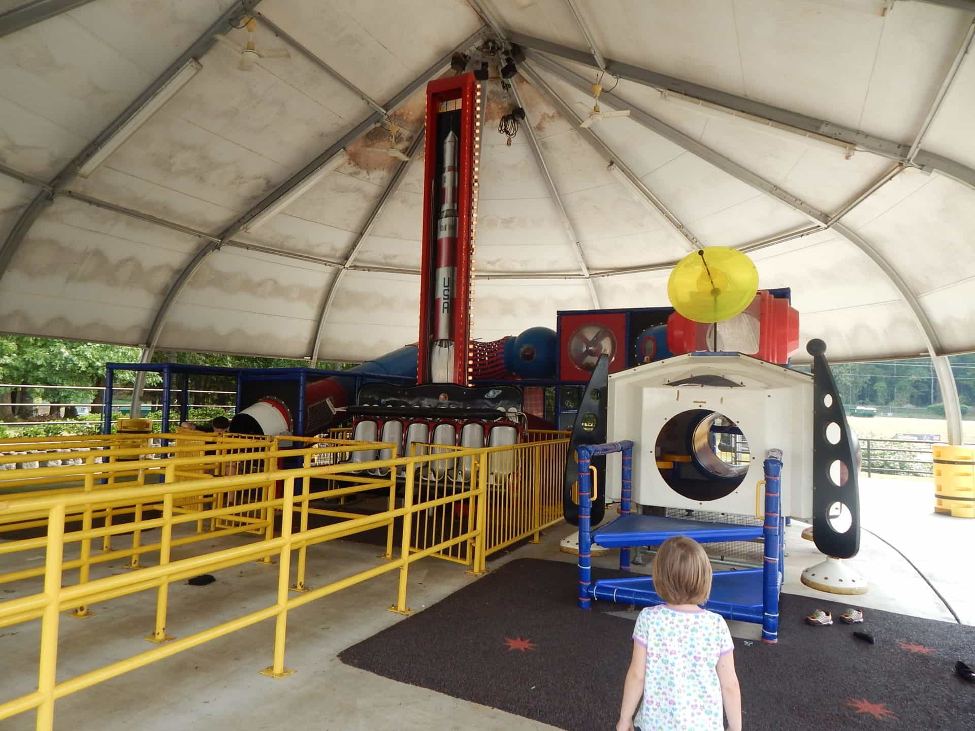 US Space and Rocket Center - Kids Cosmos Outdoor Play