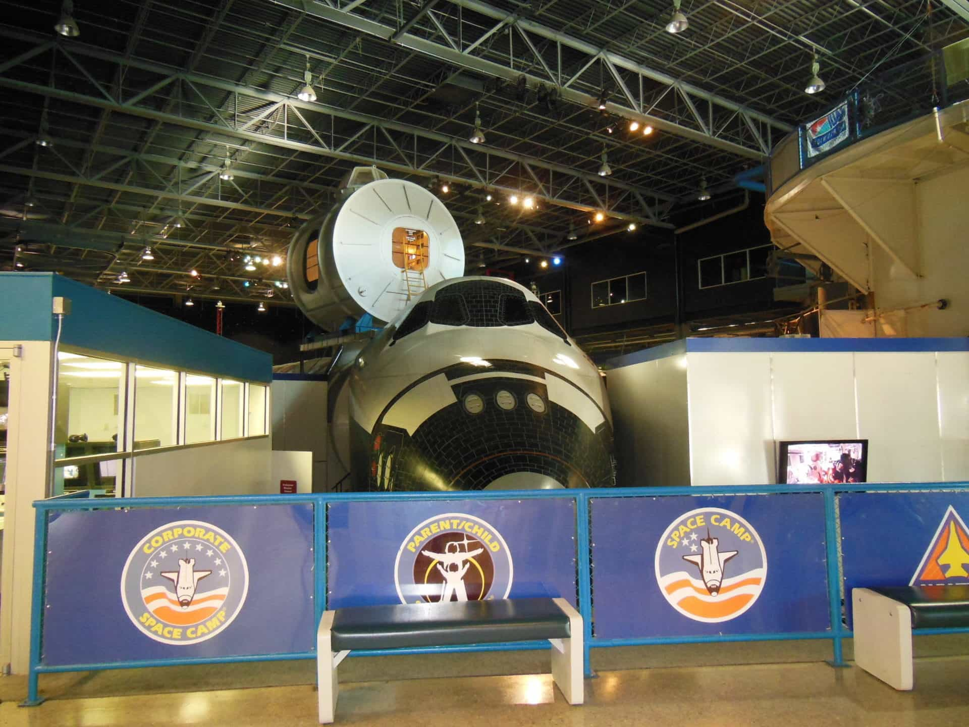 US Space and Rocket Center - Space Camp area - shuttle