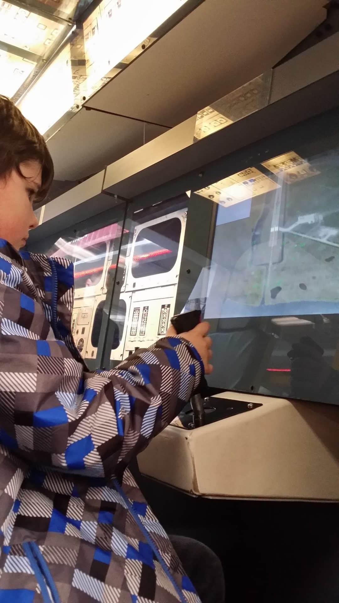 US Space and Rocket Center - flight simulator