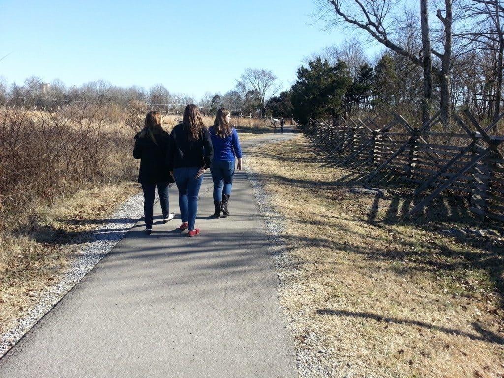 Stones River Battlefield walking tour