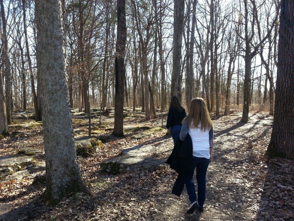 Stones River Battlefield views during tour